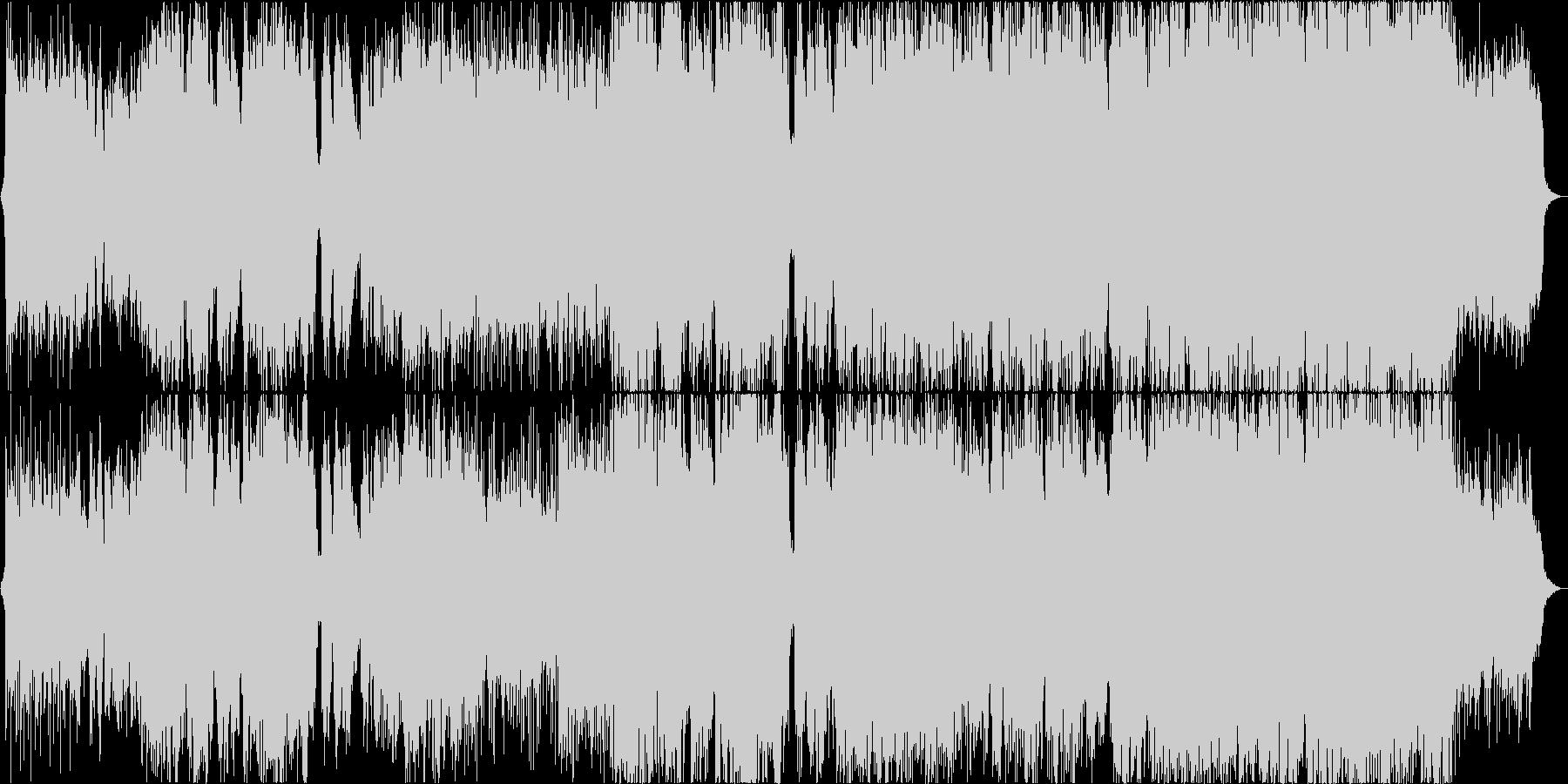 【二胡】風をイメージした楽曲の未再生の波形