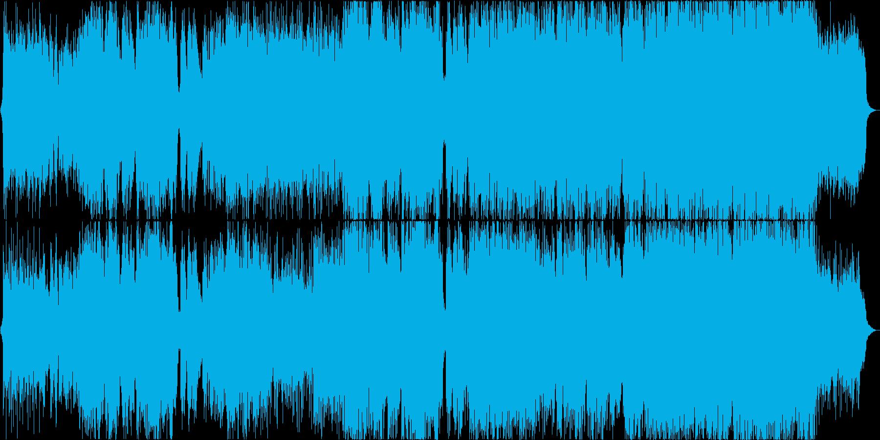 【二胡】風をイメージした楽曲の再生済みの波形