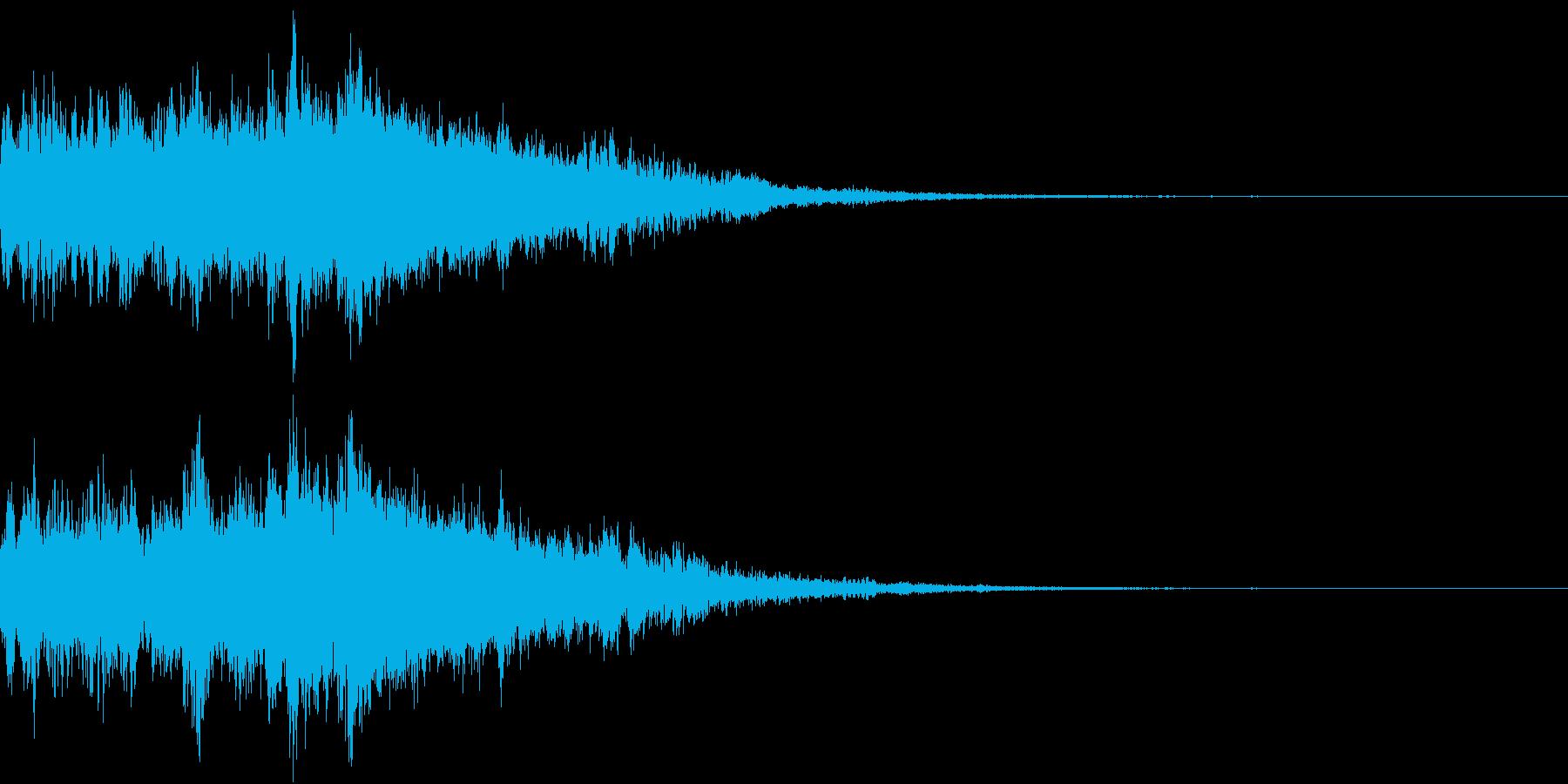 Warp 巨大化 変身 化学反応 ワープの再生済みの波形