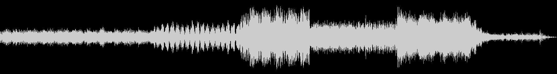 驚くべき変化ミュージカルパルサーの未再生の波形