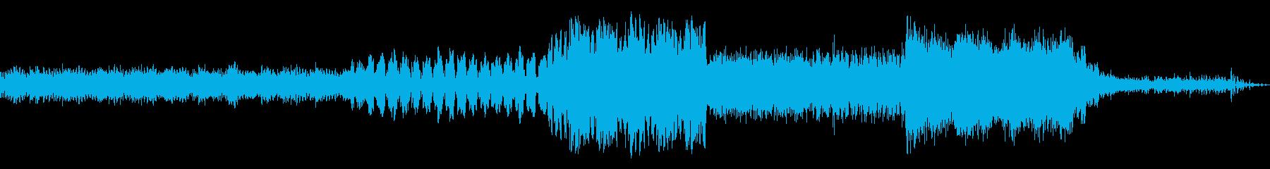 驚くべき変化ミュージカルパルサーの再生済みの波形