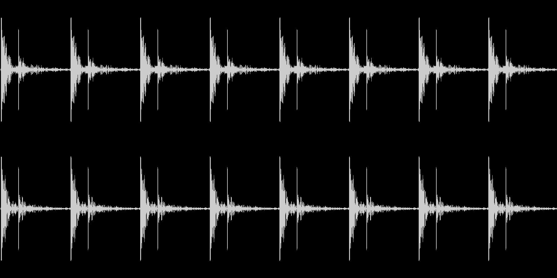 心臓の鼓動_上昇_心拍数48(残響あり)の未再生の波形