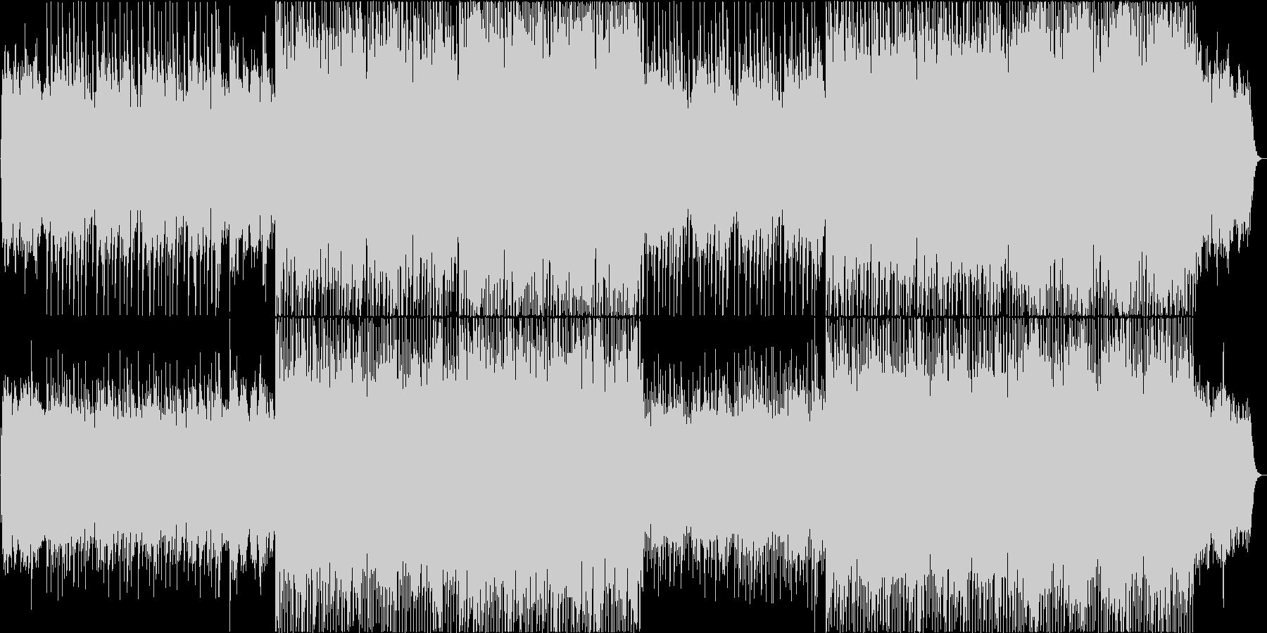 力強くスピード感溢れるコーポレートロックの未再生の波形