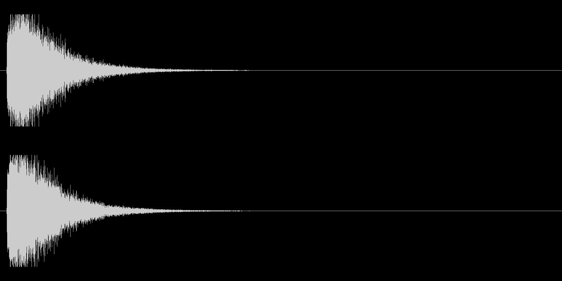 レーザー音-93-1の未再生の波形