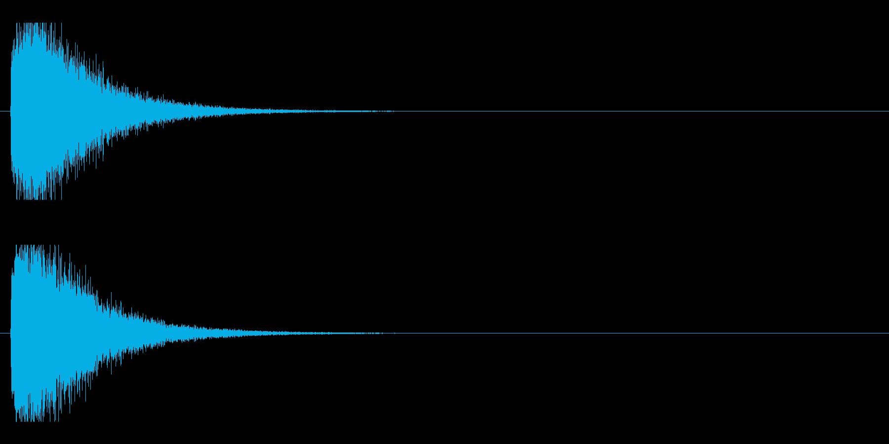 レーザー音-93-1の再生済みの波形