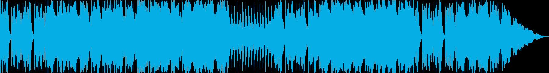 勇ましい群れの行軍を想起するBGMの再生済みの波形