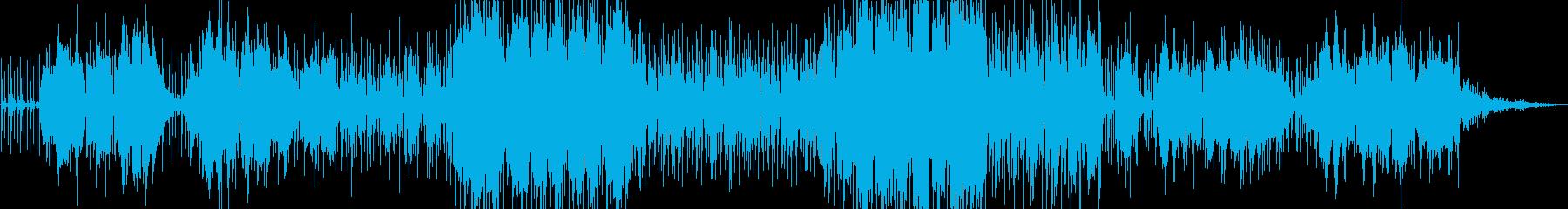 フルート。オリエンタルで奇妙。の再生済みの波形