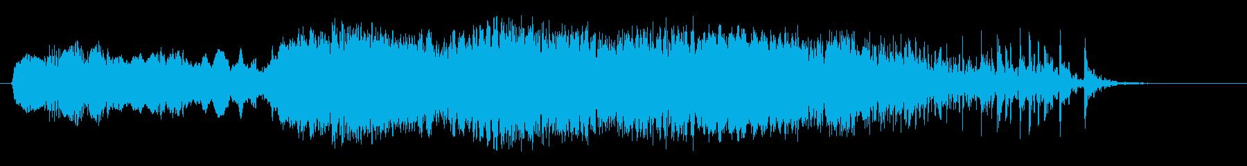 ヘビーインダストリアルクリークアン...の再生済みの波形