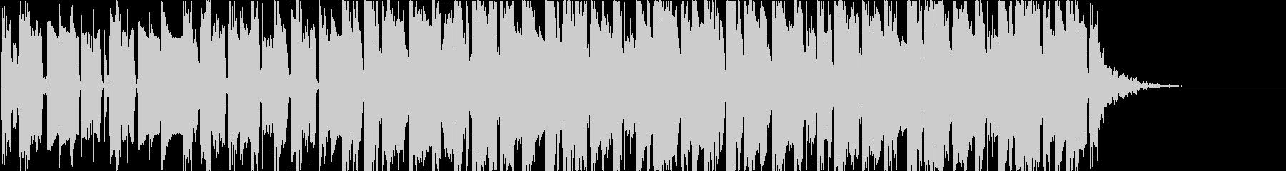 アパレルCM/ファンキーなブラス曲の未再生の波形