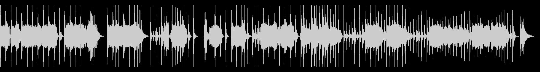 三味線,尺八,琴(箏)の厳かな純和風曲の未再生の波形