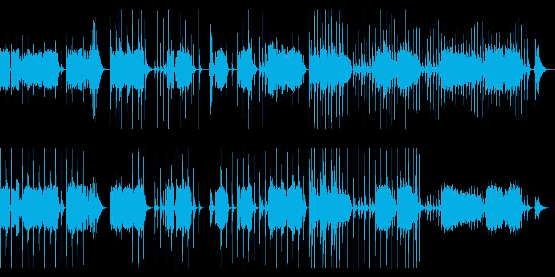 三味線,尺八,琴(箏)の厳かな純和風曲の再生済みの波形