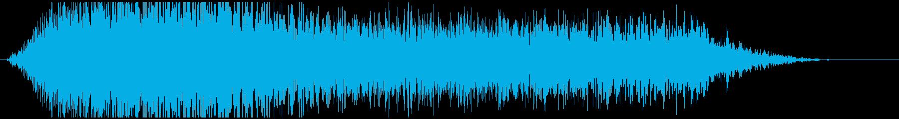 ドローン G ノイズロー01の再生済みの波形