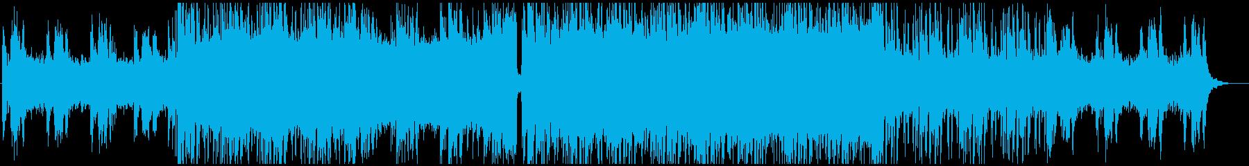 退廃的で美しい旋律のヒップホップの再生済みの波形