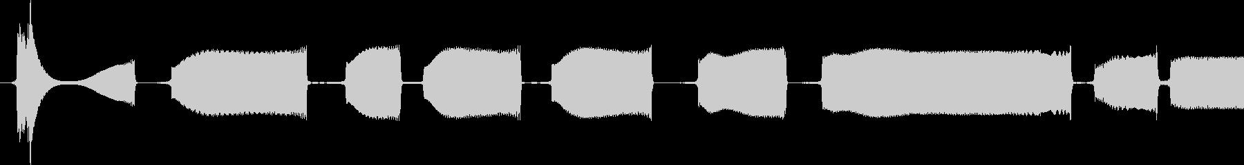 ハイスクイーキー玩具ベースのチュー...の未再生の波形