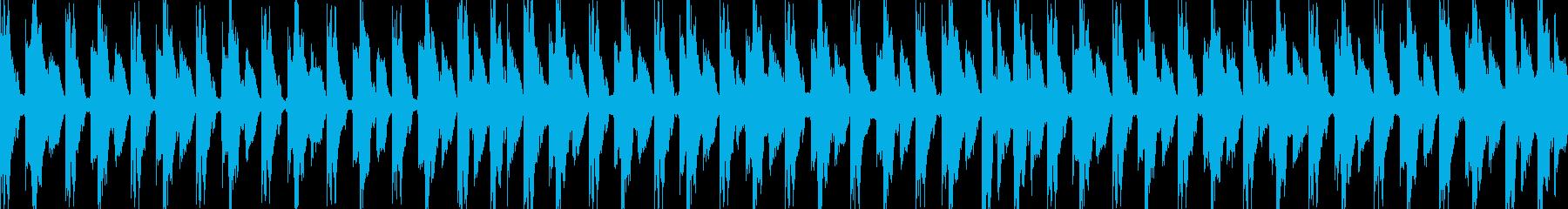 チャートポップ、ハウス/テクノ、ダ...の再生済みの波形