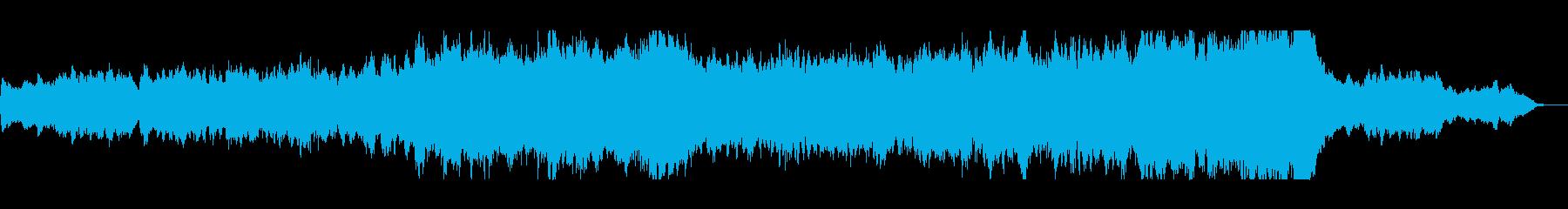 RPGの戦闘後に流れるような落ち着いた曲の再生済みの波形