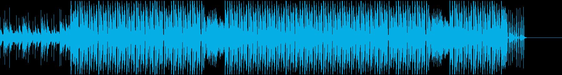 スウィングハウス子どもの笑い声ハロウィンの再生済みの波形