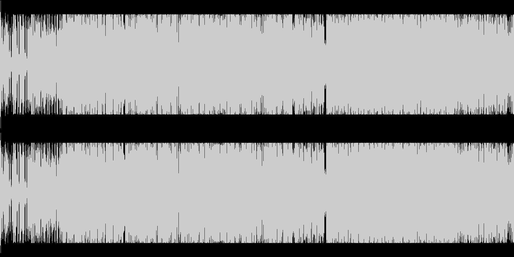 和風/モダン/三味線/箏/和楽器/EDMの未再生の波形