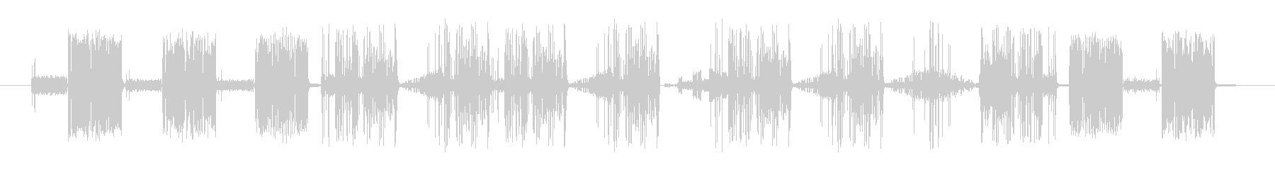 奇数Staticvoxスワイプ2の未再生の波形