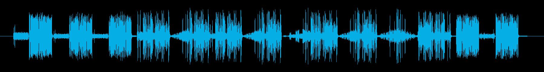 奇数Staticvoxスワイプ2の再生済みの波形
