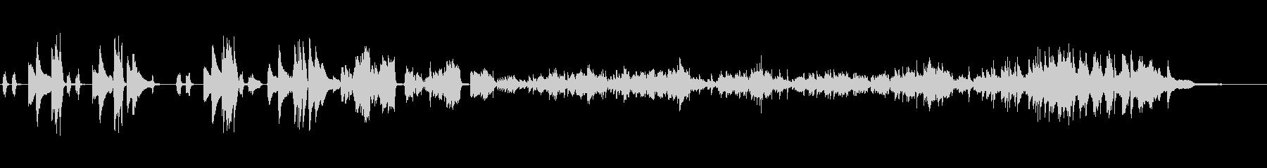 Chopin-Scherzo Op.31の未再生の波形
