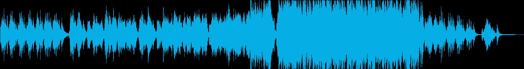 【生演奏】優しく切ないバイオリン曲の再生済みの波形