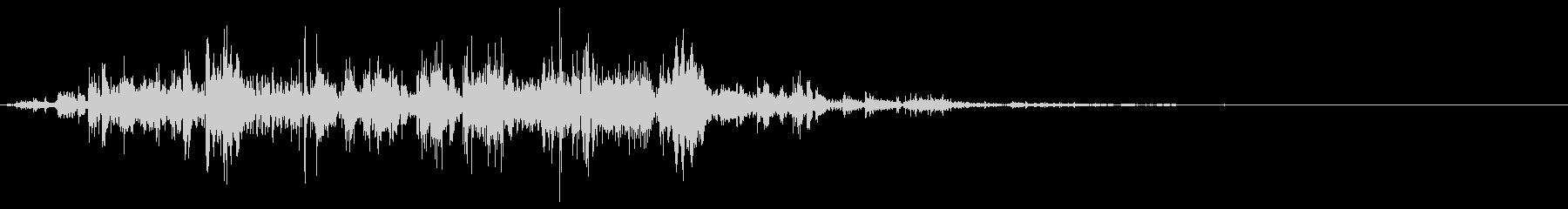 鎖を動かす音4【短い】の未再生の波形