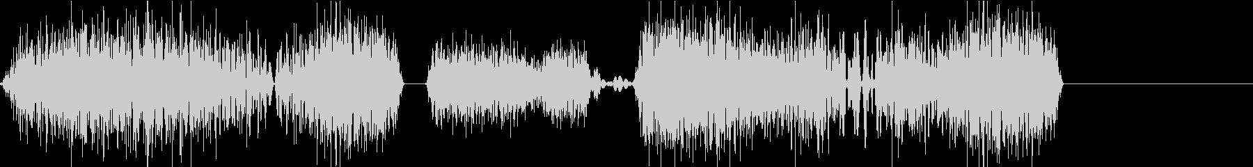 DJプレイ スクラッチ・ノイズ 102の未再生の波形