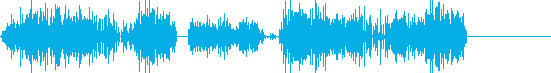DJプレイ スクラッチ・ノイズ 102の再生済みの波形