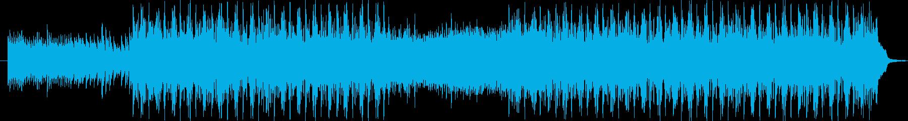 独特なリズムでシリアスなメロディーの再生済みの波形