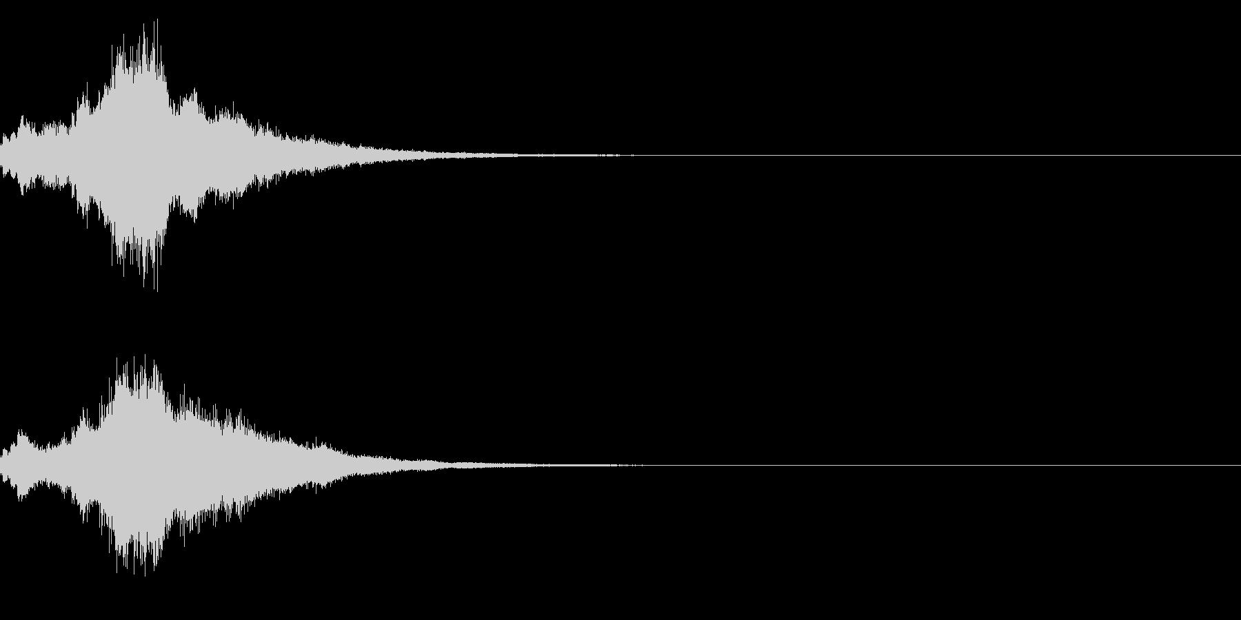 キラキラ♪クリア,達成,回復等に最適19の未再生の波形