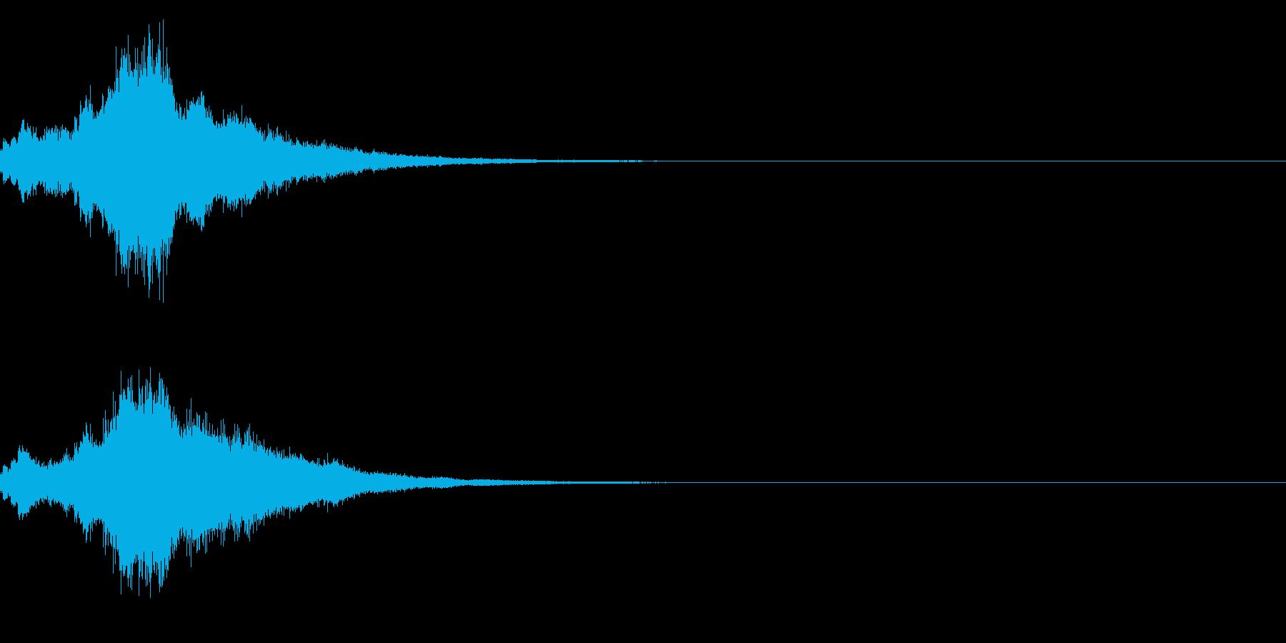キラキラ♪クリア,達成,回復等に最適19の再生済みの波形