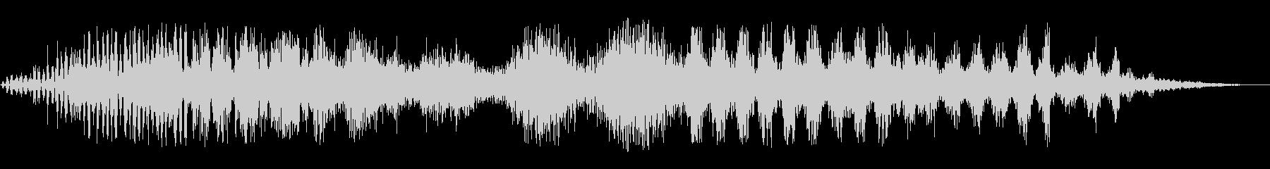 静的変動の未再生の波形