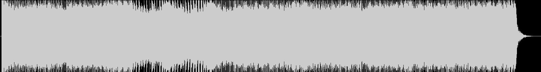 アニソンOP風デジタル★テクノポップ曲♪の未再生の波形