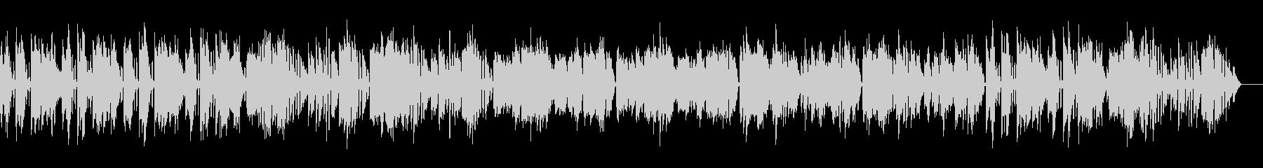 バッハ/メヌエットをヴァイオリン演奏の未再生の波形