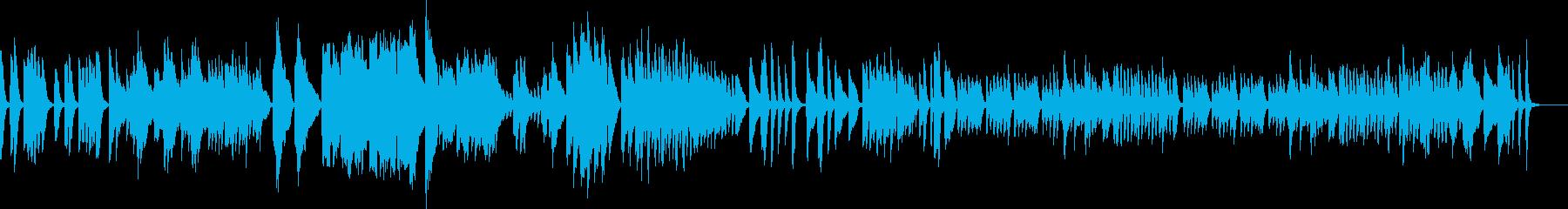 アイネクライネ 軽快なソロピアノショートの再生済みの波形