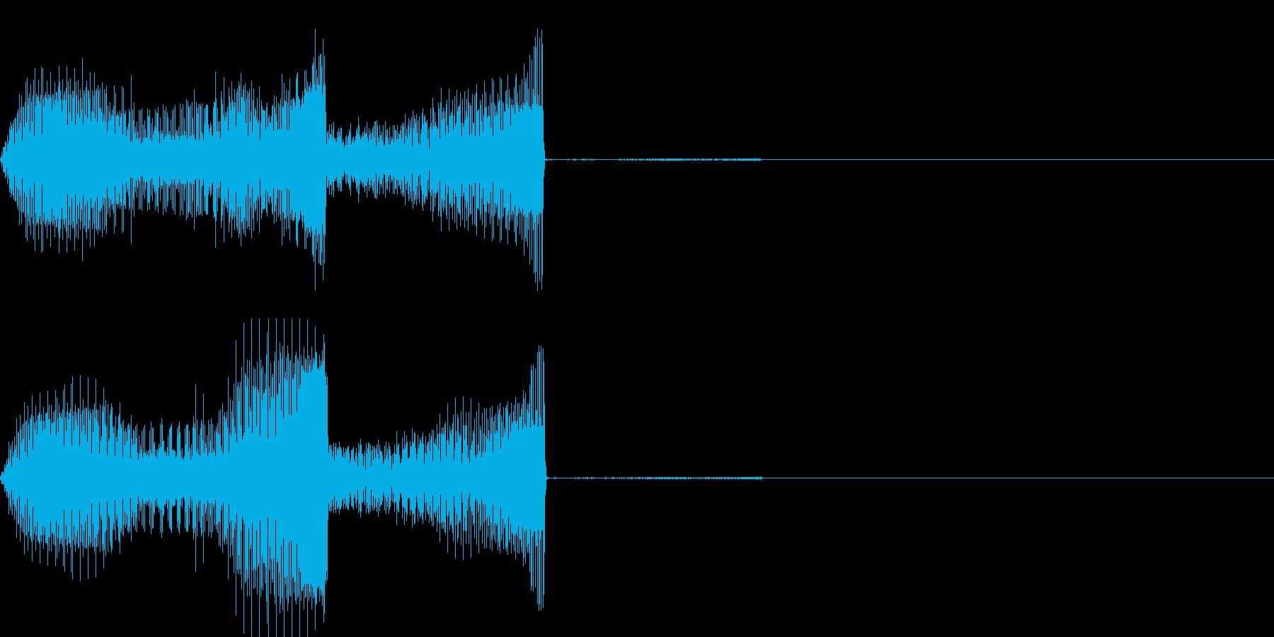 ポン(SE_エフェクト_03)の再生済みの波形