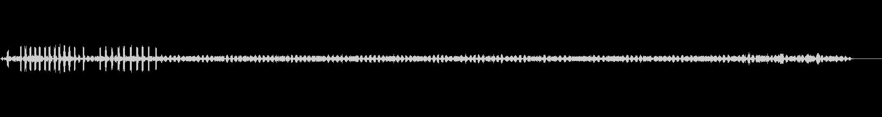 クリケット-昆虫の未再生の波形