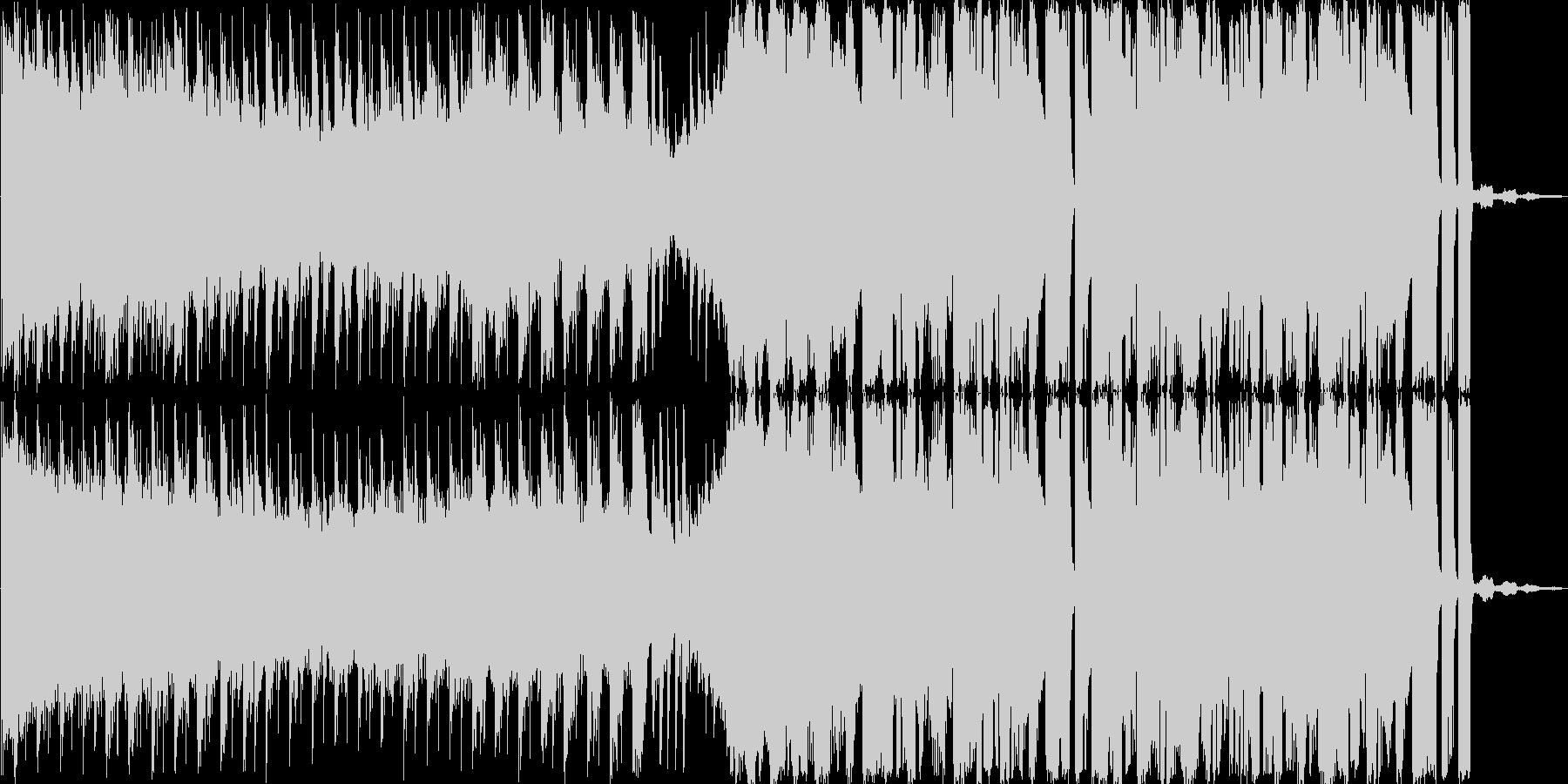 CM向けエレクトロニカの未再生の波形