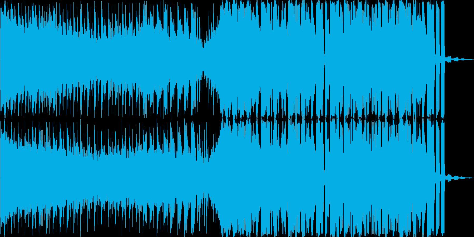 CM向けエレクトロニカの再生済みの波形