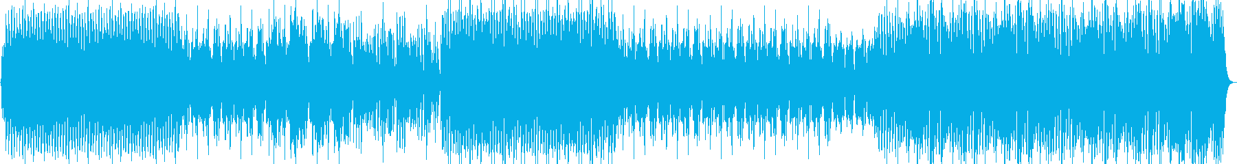 鉄琴の旋律が印象的なサウンドトラックの再生済みの波形