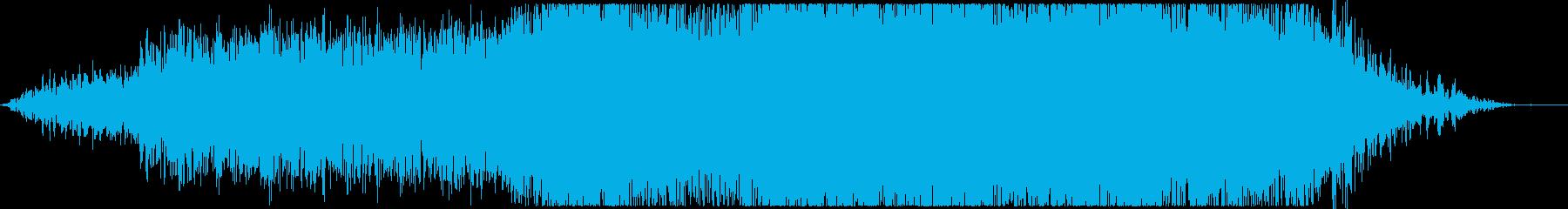 地震、外部:重度の衝突、自然災害嵐...の再生済みの波形