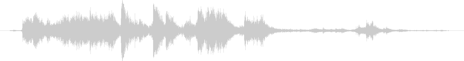 メタル クラッシュミディアム02の未再生の波形