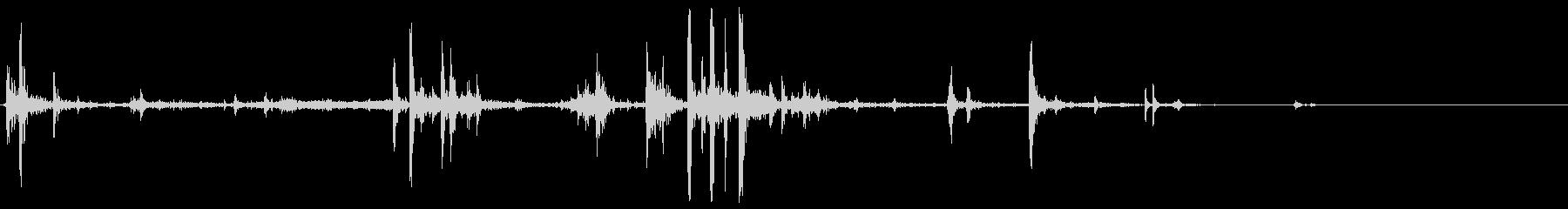クリッキーメタルスクレープ、フォリーの未再生の波形