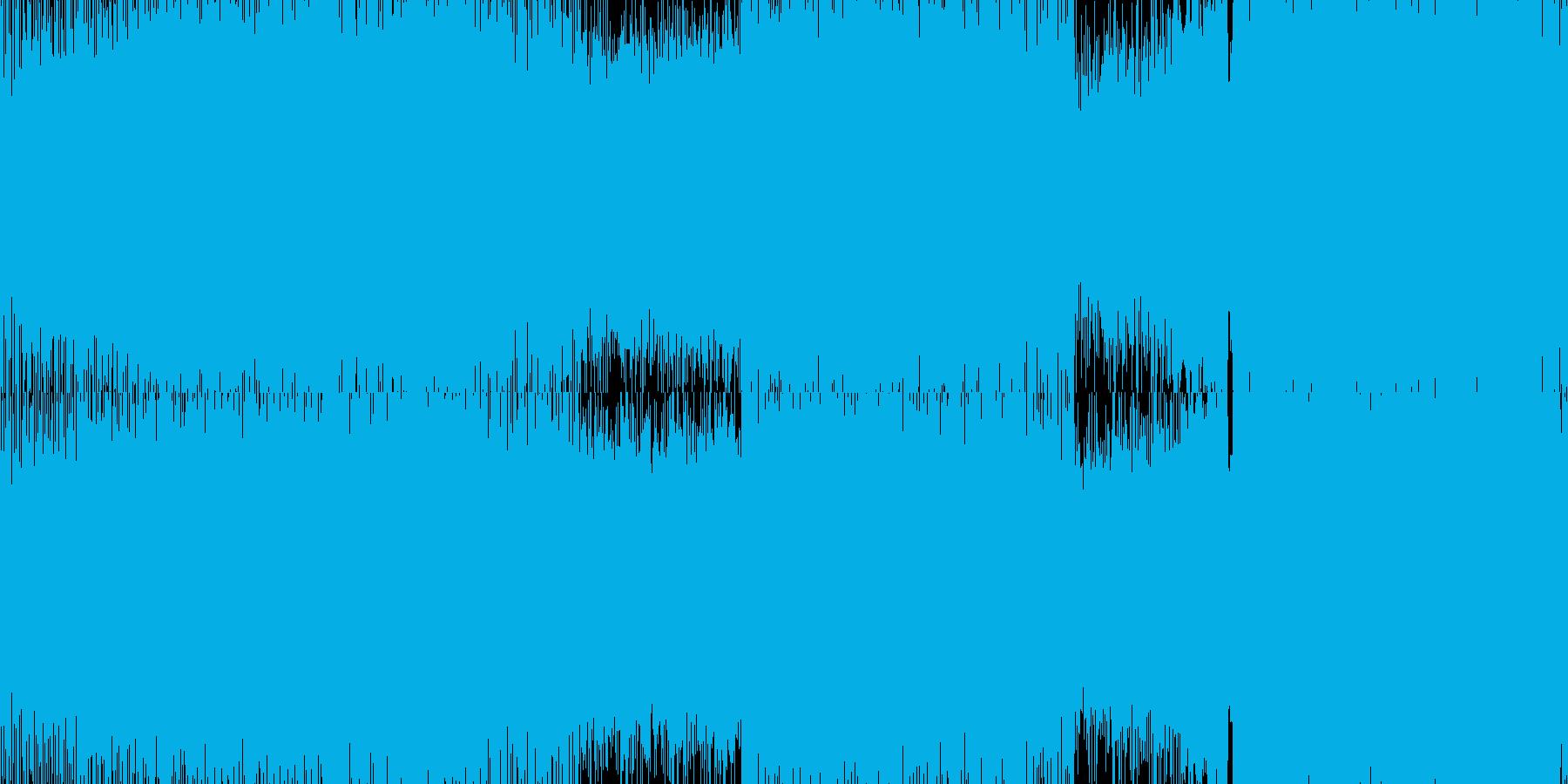 壮大な雰囲気のEDM・テクノ・ループ◯の再生済みの波形