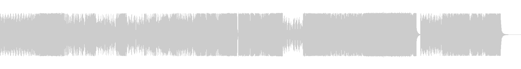 Positive, magnificent and gorgeous ending song's unreproduced waveform