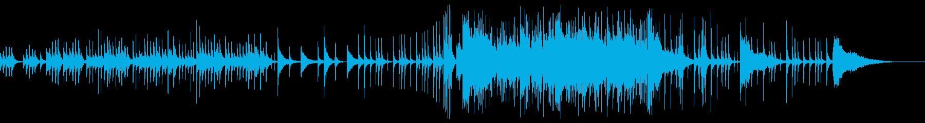 しっとり中国伝統楽器を使ったBGMの再生済みの波形