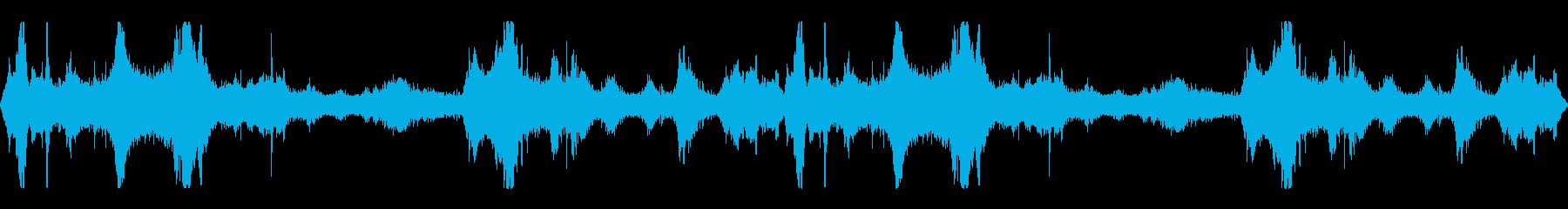 環境音_街中_交通_001の再生済みの波形