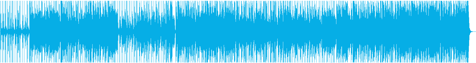 へた可愛いレトロ風女子バンドのデモ演奏風の再生済みの波形