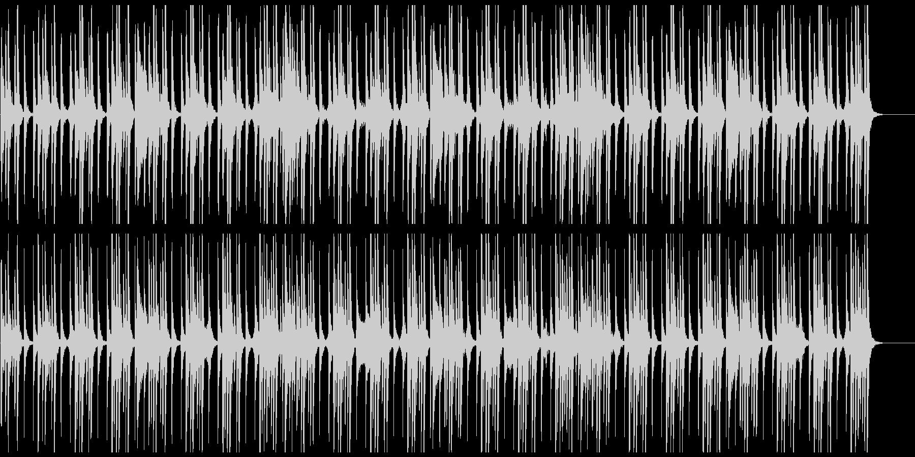 データサイエンス、科学、ミニマルな曲の未再生の波形